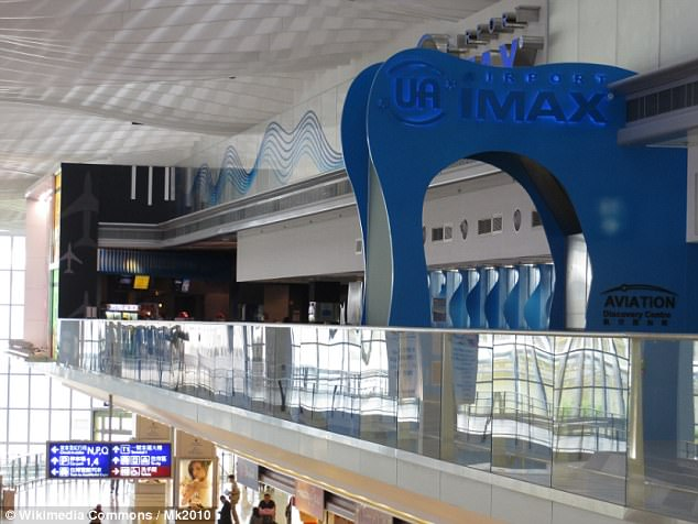 Movie magic: The IMAX cinema at Hong Kong International Airport is sited on the entertainment zone on Level 6 of Terminal 2