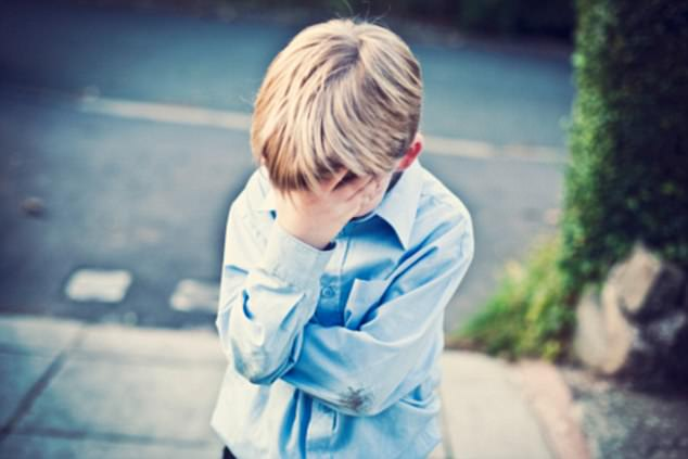 Alarming trend: In 2008, suicide attempts accounted for 0.67% of child cases in 32 US hospitals. By 2015, that figure had more than doubled to 1.79 percent (file image)