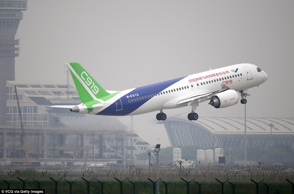 Image result for china's new airliner, photos
