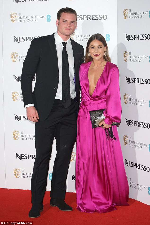From strength to strength: Louise and Ryan (pictured at BAFTA Nespresso Nominees' Party in February) went public with their romance last summer after falling for each other at the gym