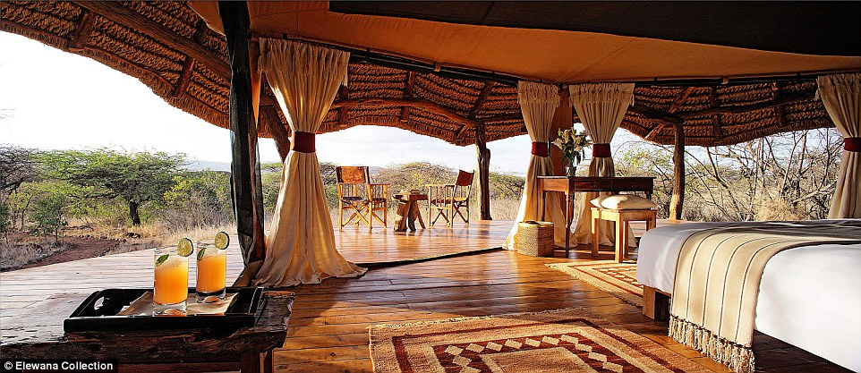 The Lewa Safari Camp, where William and Kate stayed on their engagement trip, has recently been taken over by the Elewana Collection, one of the largest groups of boutique safari lodges in East Africa
