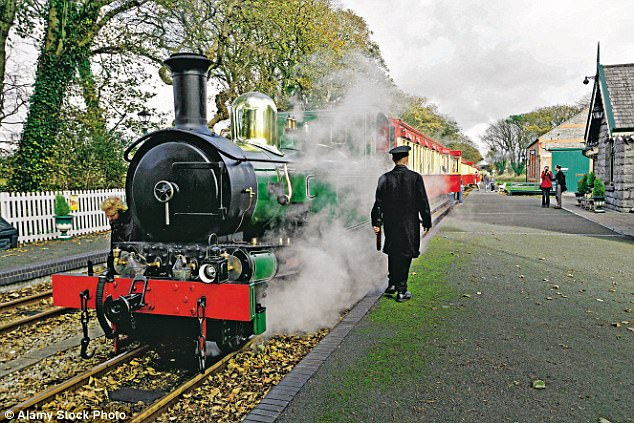 All aboard: The Isle of Man's steam railway has wide family appeal, with intriguing links to the Thomas The Tank Engine stories