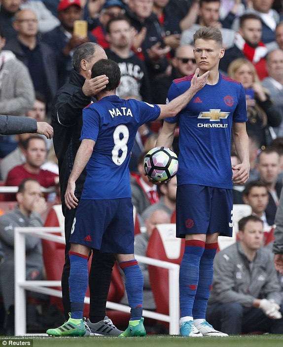 Image result for mctominay debut arsenal manchester united boss names the player that is always improving his game MANCHESTER UNITED BOSS NAMES THE PLAYER THAT IS ALWAYS IMPROVING HIS GAME 1494175594984 lc galleryImage Britain Soccer Football A