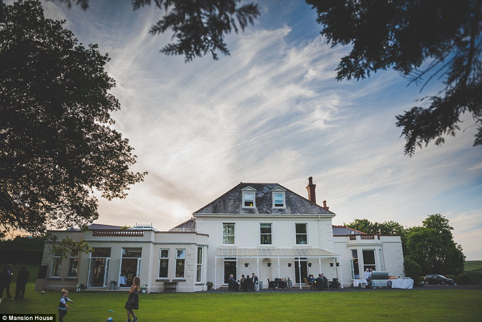 Families welcome: Over in Wales the Mansion House in Llansteffan wooed its way to the top of the leader board with 'outstanding hospitality'