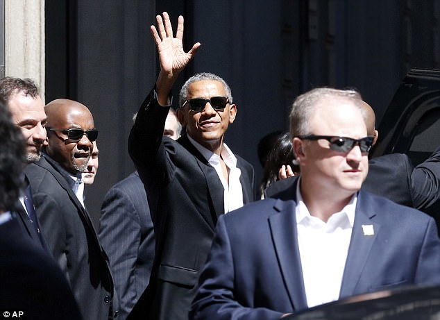 Image result for obama in shades milan