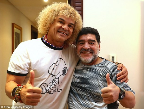 Maradona has recently returned to management with UAE second-division side Al-Fujairah
