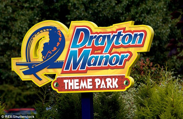 Drayton Manor theme parkin Staffordshire is visited by about 1.5million people each year