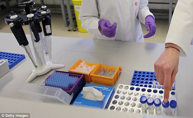 Thousands of convictions, including rapes and murders, could be overturned amid allegations of data manipulation at a forensics lab (not pictured, file photo)