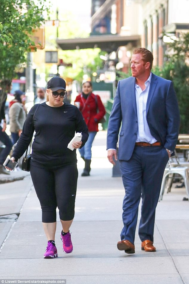 Rebel Wilson Steps With New Boyfriend Aden Stay In NYC