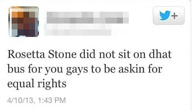 A Twitter user proved themselves both homophobic and very confused about history, mistaking a famed civil rights activist for an ancient Egyptian artefact