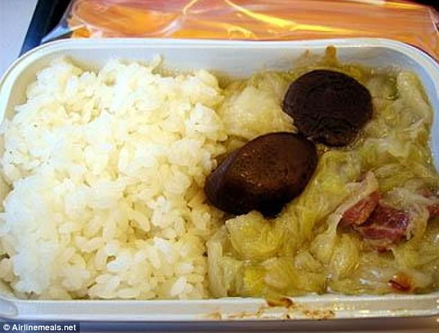 Come dine with me? Vegetable mush served with white rice and two random figs