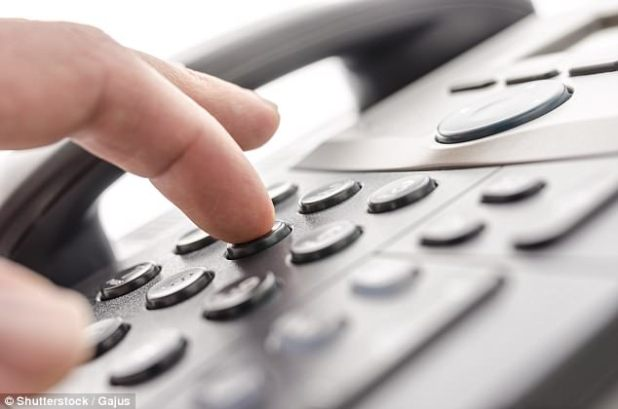 His firm was fined £400,000 for making an 'unprecedented' 100 million cold calls (stock photo)
