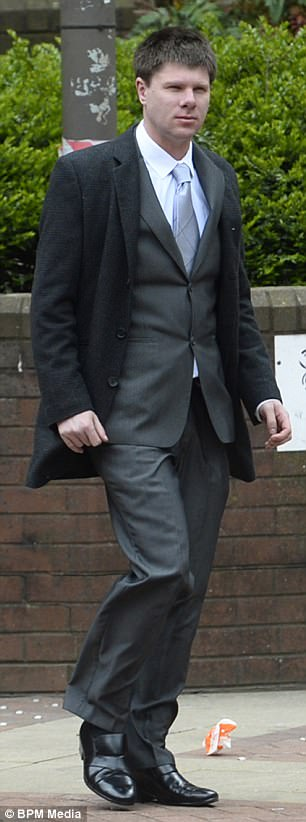Domhnall Rooney (pictured) is facing jail after he launched a four-month campaign of harassment against a social worker