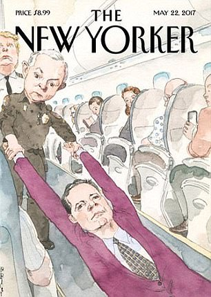 United Airlines victims lawyer objects New Yorker cover