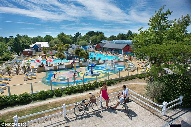 Siblu's Domaine de Kerlann camp park in southern Brittany (pictured) offers excellent value for money, according to Sarah
