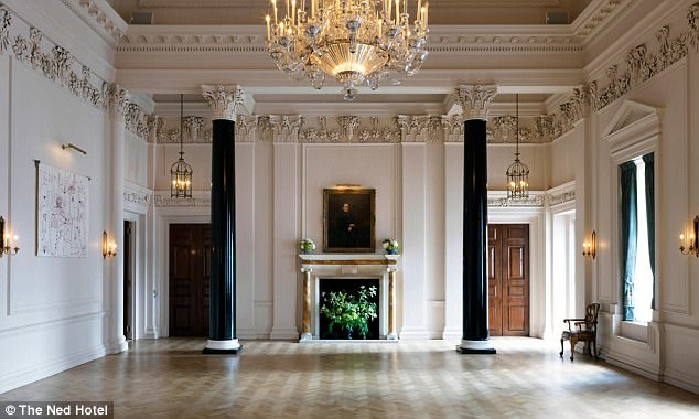 The Grade I-listed Art Deco masterpiece, designed by Sir Edwin 'Ned' Lutyens in 1924, also boasts a lavish refurbished saloon