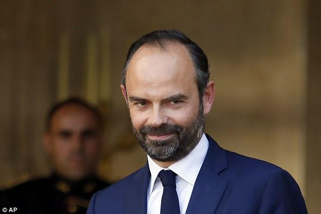Emmanuel Macron ha elegido conservadora Maverick Edouard Philippe (en la foto) como nuevo primer ministro del país