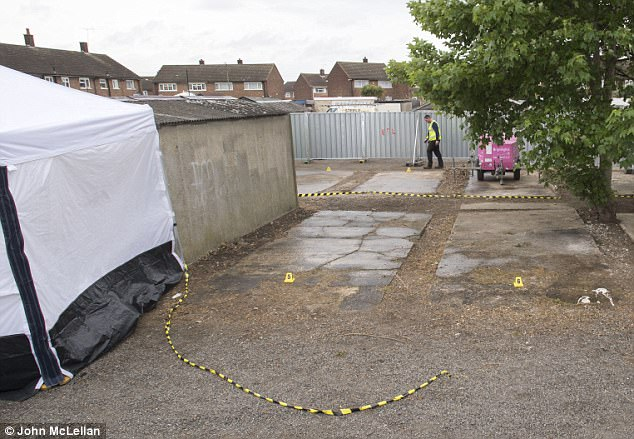 Cambell worked in paving at the time and it is feared he may have buried his niece at the site