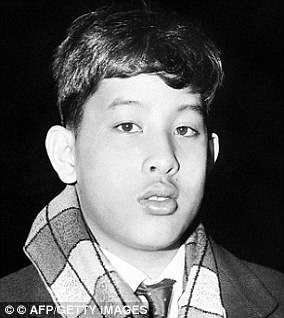 King Maha studied in the UK during his youth
