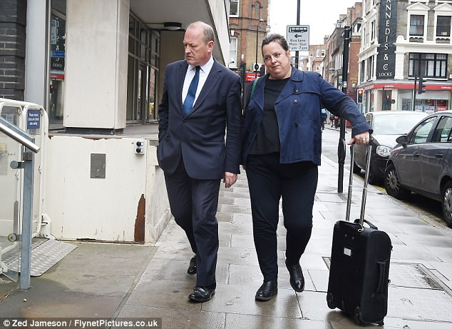 Today, the father-of-four was pictured arriving at Holborn Police Station in London, where he was quizzed for the first time since the allegations were made