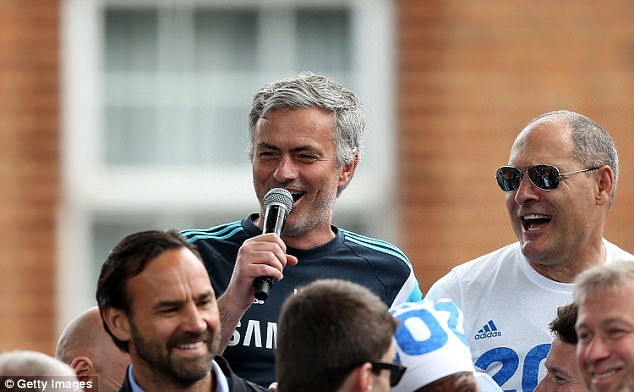 Jose Mourinho won his third title as Chelsea manager in 2014/15 but left the following year
