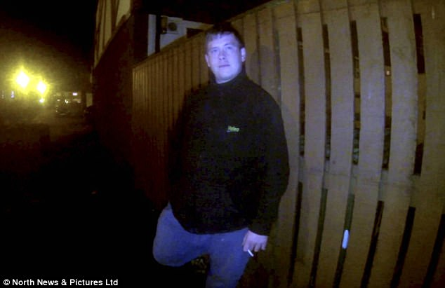 Oglesby has been jailed for two years after being trapped by a Dark Justice sting (pictured)
