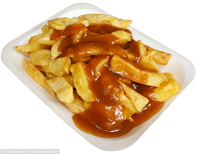 chips and gravy a favourite in manchester may increase the risk of