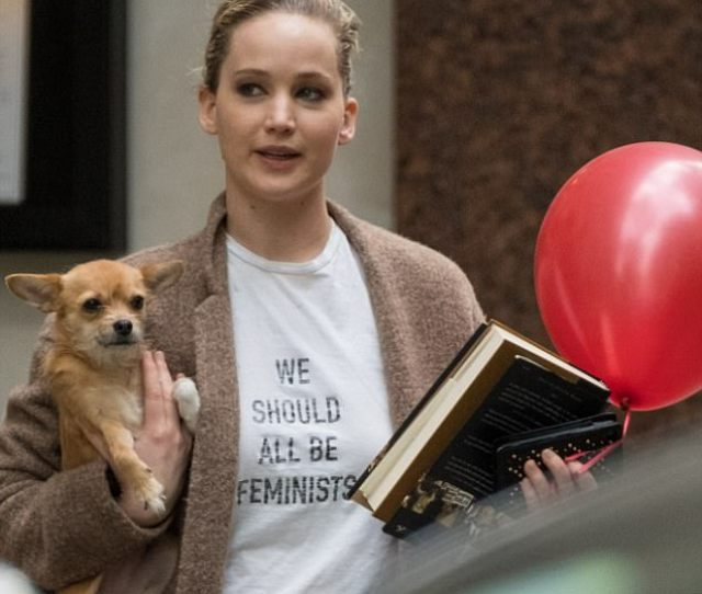 Its Dior Darling Jennifer Lawrence Declared We Should All Be Feminists In