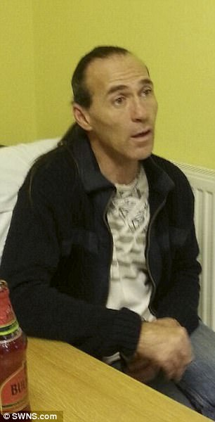 Raymond Prescott, 54, on the day he confessed to raping his daughterLayla Bell, 31