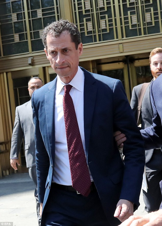 Coming clean: Weiner admitted that he had engaged in communications with the teen starting in 2016