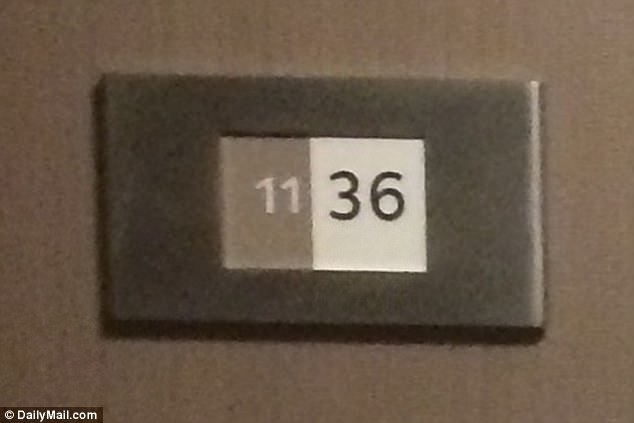 The room remains sealed off and has been listed by staff at the MGM Grand as 'unavailable' for booking