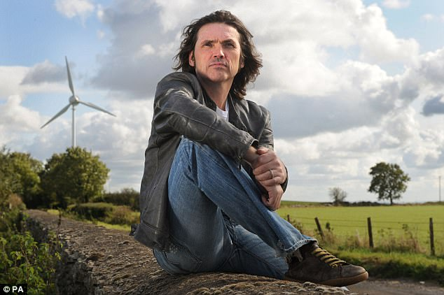Dale Vince of environmentally friendly energy supplier Ecotricity and adviser to the Labour Party on its energy policy