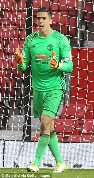 Joel Pereira (L) and left-back Demetri Mitchell, both 20, are in line for Premier League debuts
