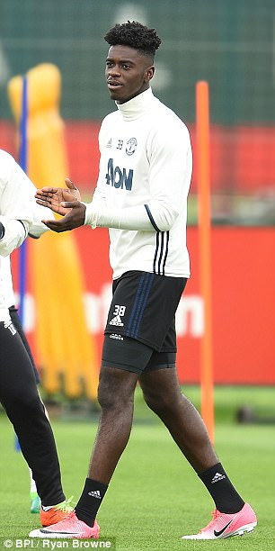 Tuanzebe made his full debut against Arsenal earlier this season
