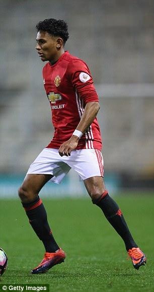 Mitchell has scored five goals in 19 Premier League 2 appearances this season