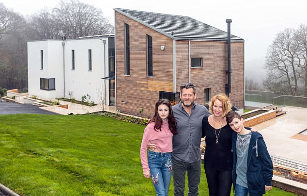 The Coopers, who have two children, Teddie, 12, and Stanley, 10, bought the vast plot 18 months ago