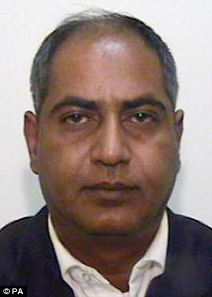 Abdul Qayyum, 49, pictured, was given five years in prison by a judge