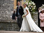 Justin Johannsen, who is pictured far right in this group photo with James Matthews and Pippa Middleton, gave a toe-curling ten-minute address