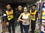 Anna Reese - who starred in The Tsunami Warrior and Brown Sugar 2 - arrived at the Bangkok nightclub where she'began throwing things' after an argument