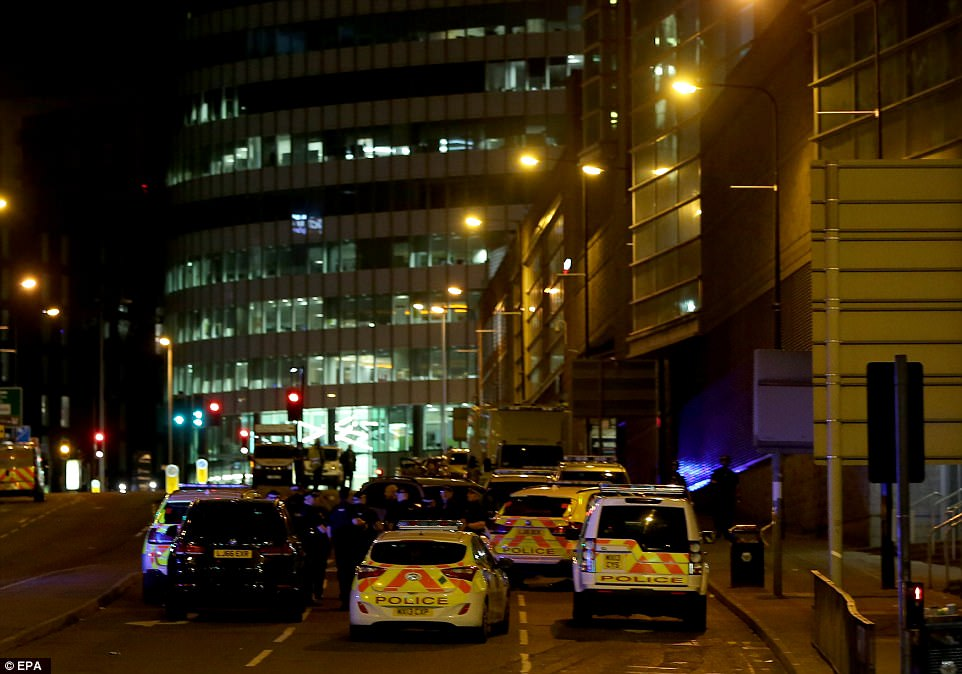 Police said earlier this morning that there was due to be a controlled explosion in Cathedral gardens, and warned people not to be alarmed