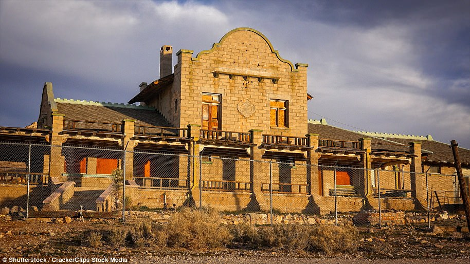 An abandoned building in Rhyolite, whichis on the eastern edge of Death Valley. It thrived during the early 20th-century gold rush