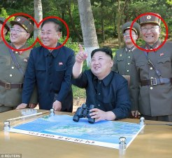 Image result for pics of north korean people celebrating\