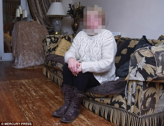 The victim's mother (pictured) is convinced that bomber Abedi was part of the group that intimidated her by hurling abuse at Ahmed's trial