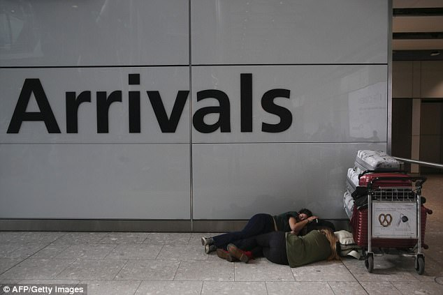 BA said it was 'experiencing a global system outage' and told passengers not to travel to London airports on Saturday
