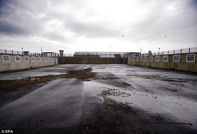 Mr Ghaffur says that the solution is to set up special centres where the 3,000 or so extremists can be detained (file photo of the Maze Prison in Northern Ireland, built on the site of the Long Kesh internment camp)
