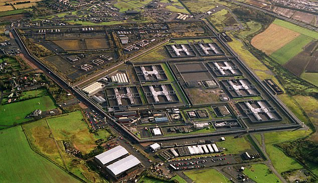 Thousands of radical extremists must be locked up in new internment camps to protect Britain, a Muslim former police chief declares today (file photo of the Maze Prison in Northern Ireland, built on the site of the Long Kesh internment camp)