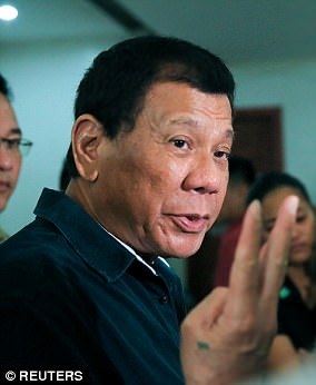 The outspoken President Rodrigo Duterte