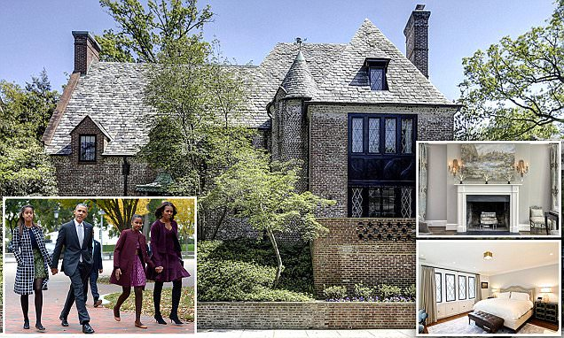 Obamas buy 8,200-square-foot mansion in DC's Kalorama area