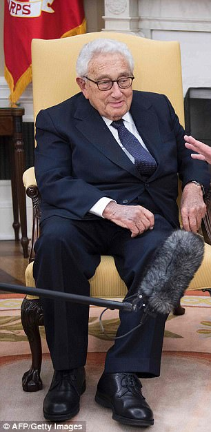 Elder statesman Henry Kissinger will also be at the annual meeting