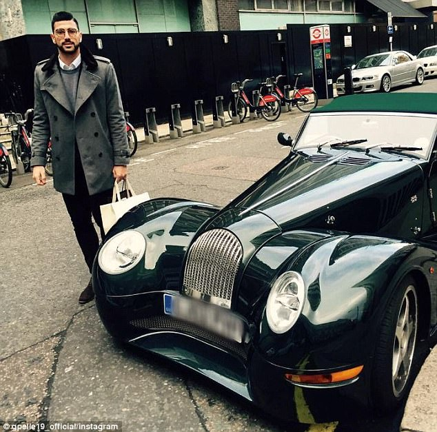 Graziano Pelle needs to play for just under 20 minutes to buy hisMorgan Aero 8 for £92,610